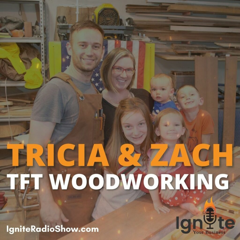 Zach & Tricia: From Family Tree to Wood Products