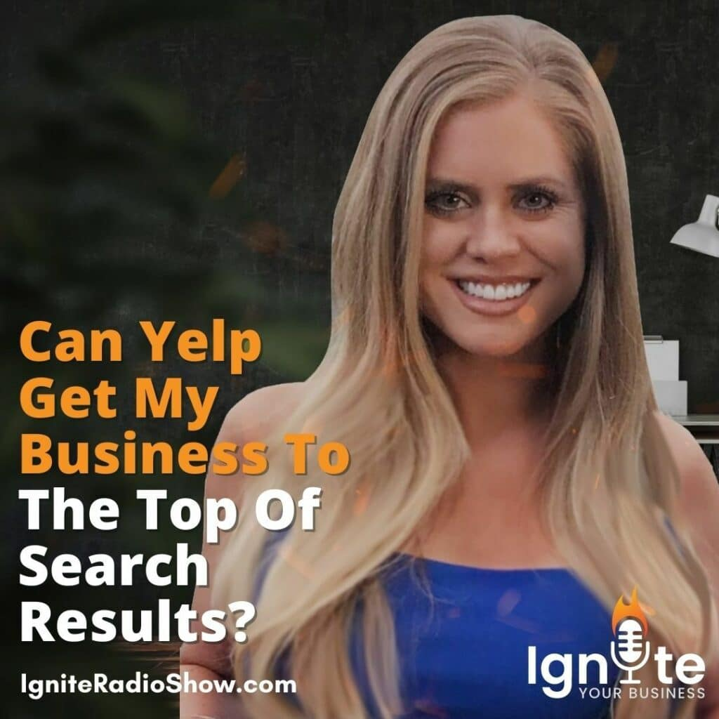 Jessica Carlin: Can Yelp Get My Business To The Top Of Search Results?