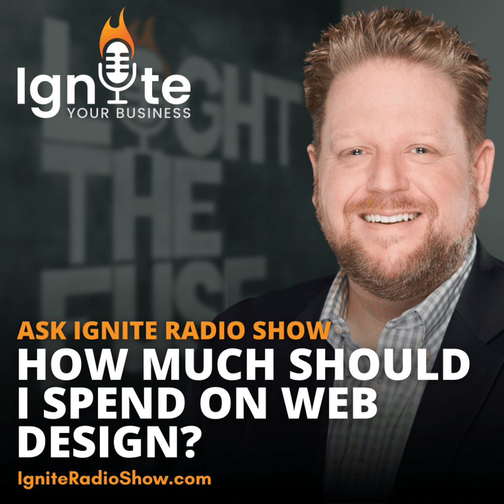 Ask Ignite: How Much Should I Spend On Web Design?